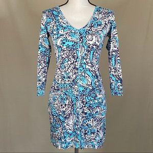 Lilly Pulitzer Juliet V Neck T Shirt Dress XXS